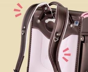 萬勇鞄の肩ベルトはS字カーブを描く