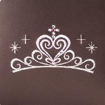 クローネティアラのティアラの刺繍